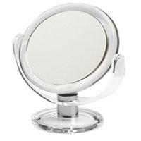 Swissco Vanity Mirror 7 Inch, Clear Frame, 1X/3X, 16-Ounce