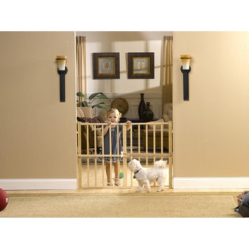 GMI GuardMaster III 478 Tall Wood Slat Pressure Baby and Pet Gate