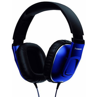 Panasonic Street Band Monitor Headphones- Blue