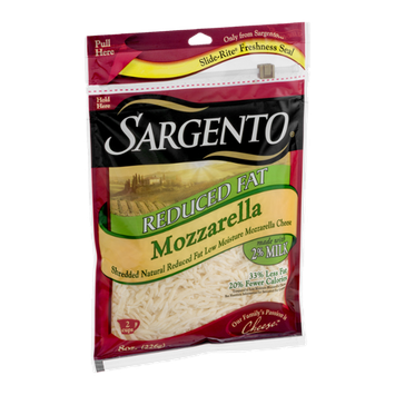 Sargento Reduced Fat Mozzarella Cheese Shredded