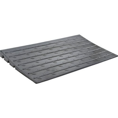 Rage Powersports Mobility Doorway Access All-Weather Rubber Threshold Ramp