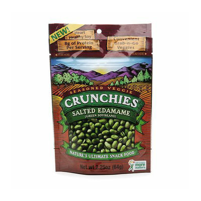 Crunchies Freeze Dried Snack Food Salted Edamame