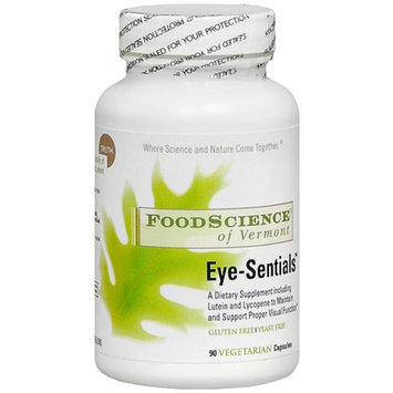 FoodScience of Vermont Eye-Sentials Vegetarian Capsules