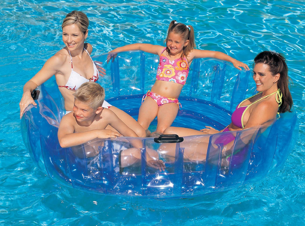 Bestway-usa ClearWater 68 in. x 18 in. Family Float Lounge