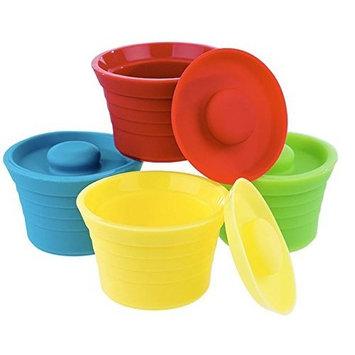 Kinderville Little Bites Storage Jars Set of Four