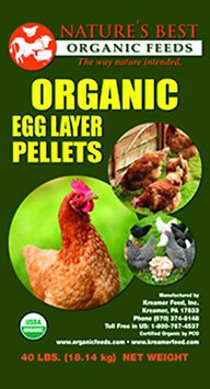 Horseloverz Natures Best Organic Egg Layer 16% Crumble 40 Lb