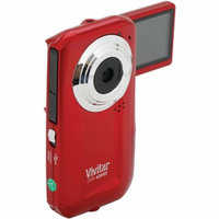 Vivitar 5.1 Megapixel DVR426 Digital Video Camera, Red, 1 ea