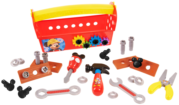 Just Play Mickey Handy Helper Tool Box