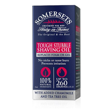 Somersets Tough Beard Shave Oil