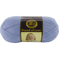 Lion Brand Pound Of Love Baby Yarn Bluebell