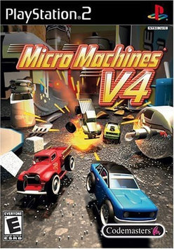 Codemasters Micro Machines V4 - PlayStation 2