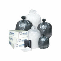 Inteplast Group 30 Gallon Low-Density Can Liner in White
