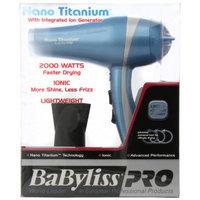 Hot Tools Babyliss Pro BABNT5548 2000 Watt Ionic Nano Titanium with Integrated Ion Generator Hair Dryer