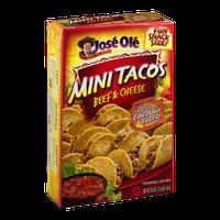 Jose Ole Mini Tacos Beef & Cheese