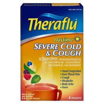 Novartis Consumer Health Theraflu Berry & Green Tea Daytime Severe Cold & Cough Pain