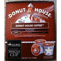 Green Mountain DONUT HOUSE REGULAR COFFEE 48 K-Cups for Keurig Brewers