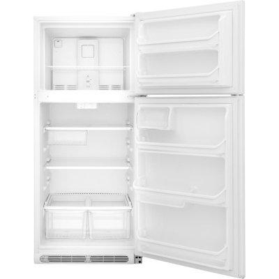Frigidaire FFTR2021QW 20.0 Cu. Ft. White Top Freezer Refrigerator - Energy Star