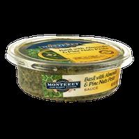 Monterey Gourmet Foods Sauce Basil with Almonds & Pine Nuts Pesto