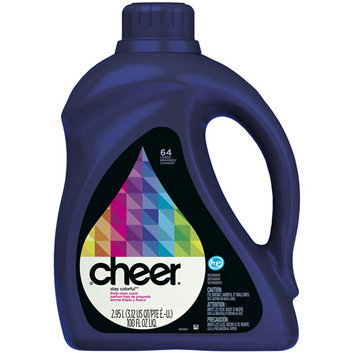 Cheer 2x Ultra HE Fresh Clean Scent Liquid Detergent 64 Loads 100 Fl Oz