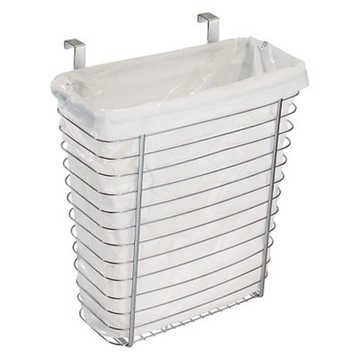 interDesign Axis Over-The-Cabinet Waste/Storage Basket, 1 ea