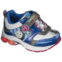 Thomas & Friends Toddler Boy's Thomas The Tank Engine Light Up Sneakers - Blue 4