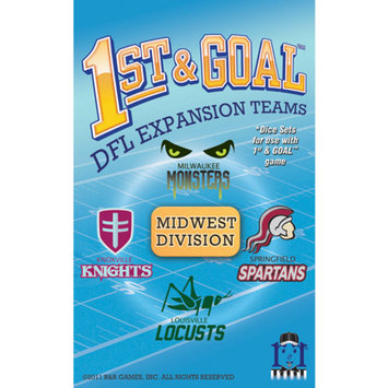 R and R Games 1st & Goal Expansion #4 - Midwest Division, 1 ea