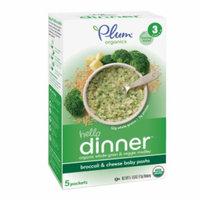Plum Organics Baby Quick Meals, Broccoli & Cheese Baby Pasta, 5 ea