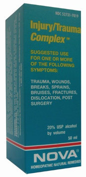 Nova Homeopathic Injury Trauma Complex 1.7 OZ