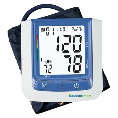Mabis HealthSmart Select Automatic Arm Digital Blood Pressure Monitor - Standard without AC Adapter