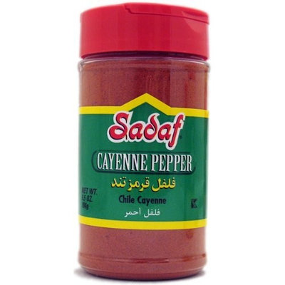 Sadaf Cayenne Pepper, 6.5-Ounce (Pack of 5)