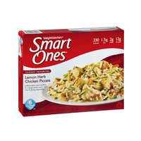 Weight Watchers Smart Ones Classic Favorites Lemon Herb Chicken Piccata