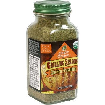 Simply Organic Certified Organic Grilling Seasons Chicken Seasoning
