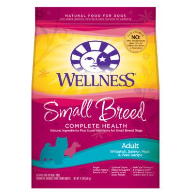 WellnessA Small Breed Adult Dog Food