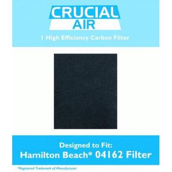 Crucial Air Hamilton Beach Carbon Filter Fits 04152, 04162 & 04163, # 04923