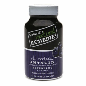 Brainard's Natural Remedies All Natural Antacid Chewable Tablets