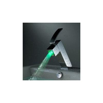 Meijer Color Changing LED Bathroom Sink Faucet - Chrome Finish