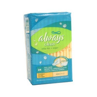 Always Ultra Thin and Wipe with Flexi-Wings Overnight