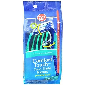 Walgreens Comfort Touch Pivot Disposable Razor Men