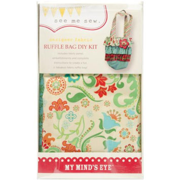 My Minds Eye MME Ruffle Bag Kit-Red