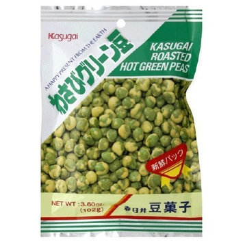 Kasugai Wasabi Roasted Hot Green Peas
