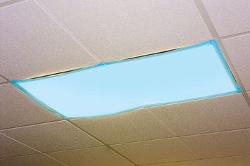 Educational Insights Classroom Light Filters - Set Of 4 - Tranquil Blue