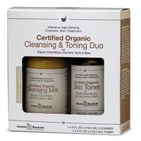Janson Beckett Certified Organic Cleansing and Toning Duo