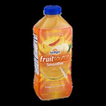 SunRype Fruitsource Smoothie Tropical Sunrise!