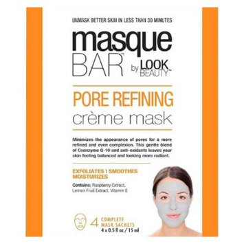 Masque Bar by Look Beauty Pore Refining Crème Mask - 4 Mask Sachets