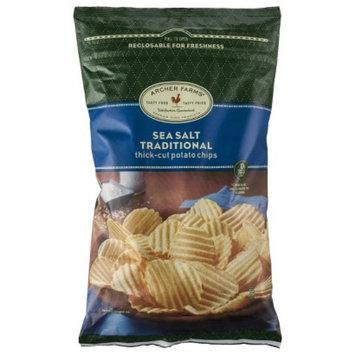 Archer Farms Sea Salt Traditional Thick-Cut Potato Chips 8 oz