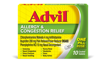 Advil® Allergy & Congestion Relief