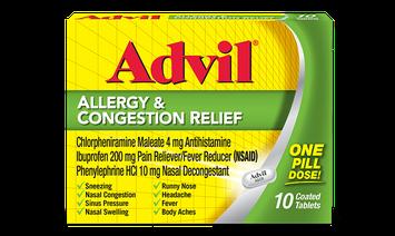 Advil® Allergy & Congestion Relief