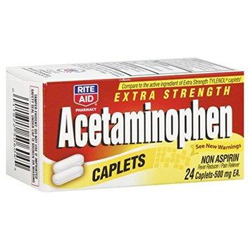 Rite Aid Brand Rite Aid Acetaminophen, 24 ea