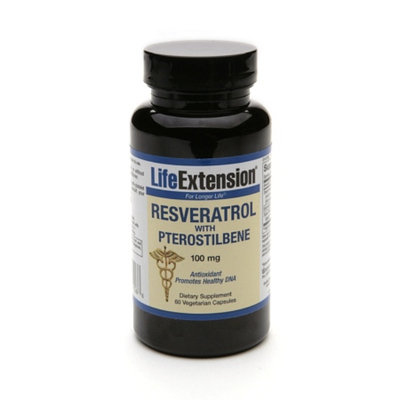 Life Extension Resveratrol With Pterostilbene 100mg
