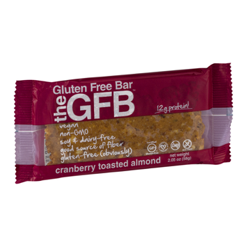 GFB The Gluten Free Bar Cranberry Toasted Almond